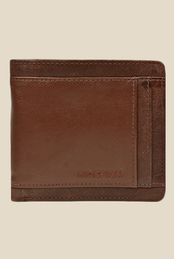 Hidesign 266-010 Raro Brown Bi-Fold Leather Wallet
