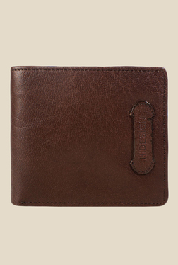 Hidesign 279-L107F Khyber Ranch Brown Bi-Fold Leather Wallet