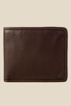 Hidesign 267-L107F Siberia Brown Bi-Fold Leather Wallet