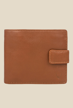 Hidesign L102 Regular Tan Bi-Fold Leather Wallet