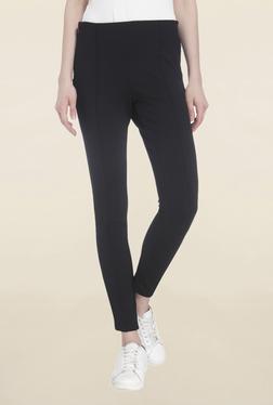 Vero Moda Black Regular Fit Ankle Length Pants
