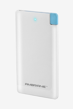 Ambrane Plush PP41 4000 mAh Power Bank (White)