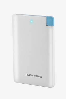 Ambrane Plush PP25 2500 MAh Power Bank (White)