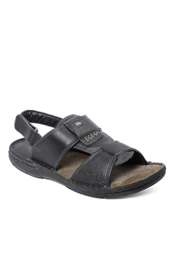 Red Chief Black Back Strap Sandals - Mp000000001611525