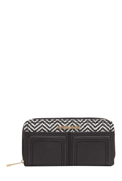 Aldo Ibialla Black Textured Wallet