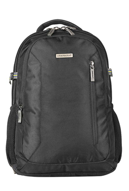 Aristocrat URBAN PRO Black Solid Polyester Laptop Backpack