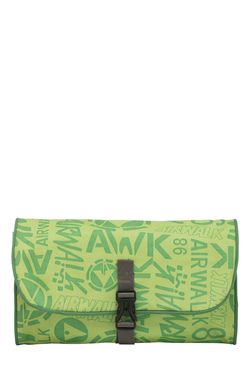 BagsRUs Green Printed Polyester Travel Organiser