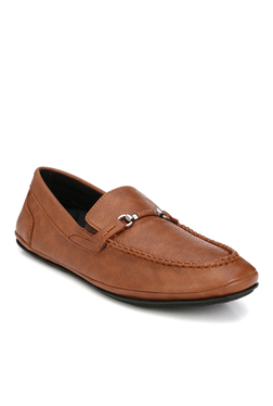Afrojack Tan Casual Loafers