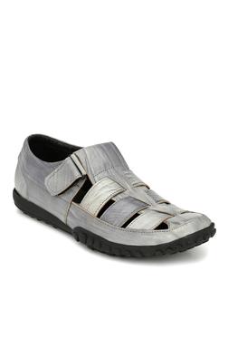 Afrojack Premium Grey Fisherman Sandals