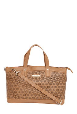 Addons Tan Cut Work Shoulder Bag - Mp000000001637793