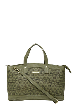 Addons Olive Cut Work Shoulder Bag