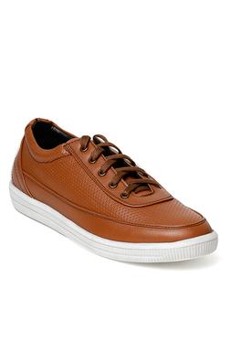 Bruno Manetti Tan Casual Sneakers