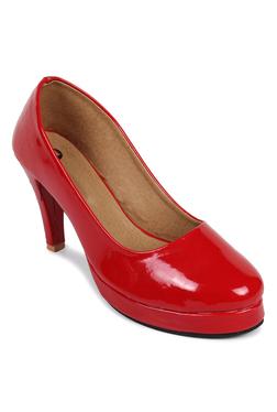 N-Gal Red Formal Pumps