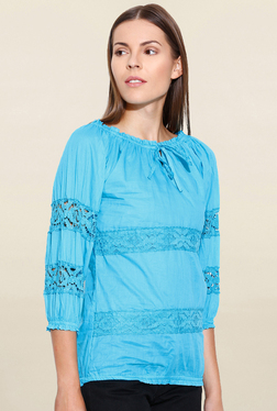 U&F Green Lace Top - Mp000000001640046