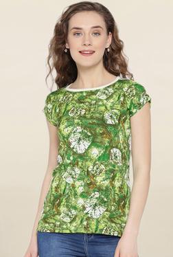 U&F Green Tie Dye Top