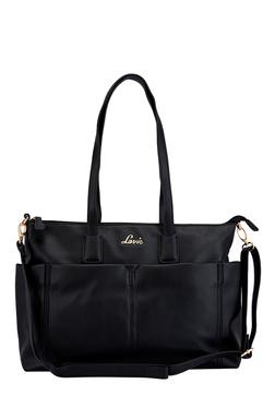 Lavie Dioptase Black Solid Shoulder Bag