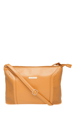 Addons Tan Cut Work Sling Bag