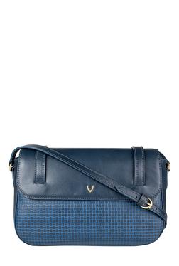 Hidesign Venus 01 Navy Textured Leather Sling Bag