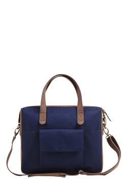 Mohawk Caelum Blue & Brown Polyester Laptop Messenger Bag