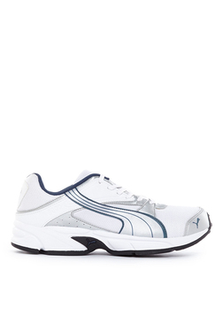 Puma Volt II Ind White & Silver Running Shoes