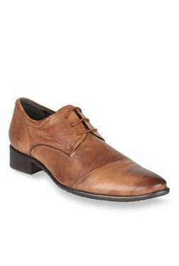 Salt 'n' Pepper Senator Almond Derby Shoes