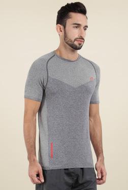 Proline Grey Short Sleeves Cotton T-Shirt