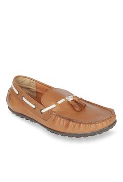 Salt 'n' Pepper Mach2 Almond Boat Shoes