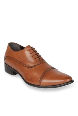 Salt 'n' Pepper Senator Almond Oxford Shoes