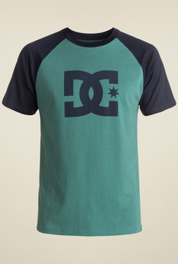 DC Green Short Sleeves Cotton T-Shirt