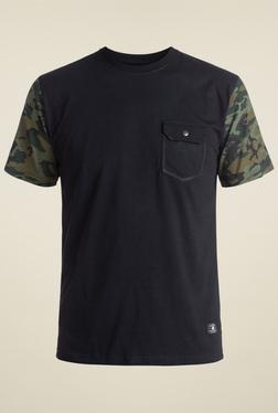 DC Black Short Sleeves Cotton T-Shirt