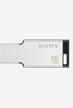 Sony USM16MX 16 GB USB 2.0 Metal Pen Drive (Silver)