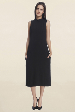 Vero Moda Black Midi Dress