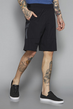Westsport Active By Westside Black Slim Fit Shorts