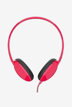 Skullcandy Stim On-Ear Headphone with Microphone (Red)