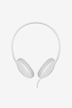 Skullcandy Stim On-Ear Headphone with Microphone (White)