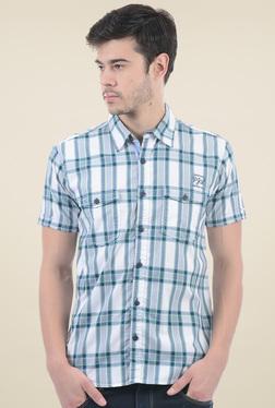 Pepe Jeans Navy Short Sleeves Checks Shirt