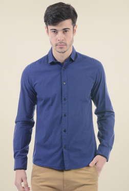 Pepe Jeans Dark Blue Slim Fit Shirt