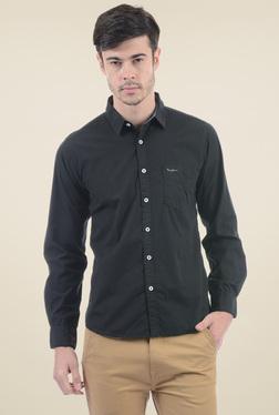 Pepe Jeans Black Slim Fit Shirt