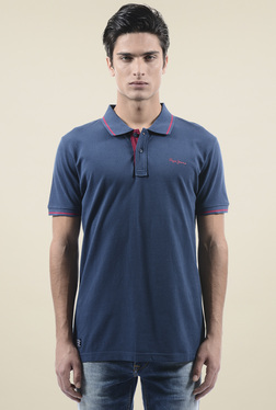 Pepe Jeans Dark Blue Slim Fit Polo T-Shirt