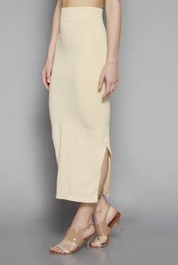 Wunderlove By Westside Beige Saree Shapewear
