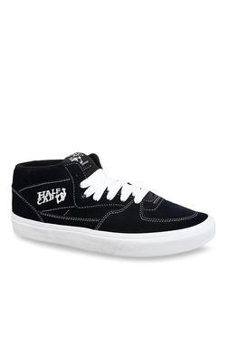 Vans Half Cab Navy Ankle High Sneakers