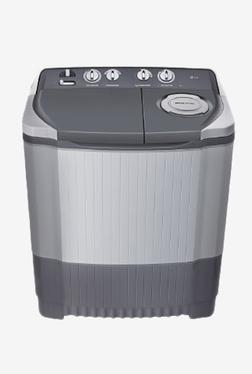 LG P7550R3FA 6.5Kg Semi Automatic Washing Machine(Dark Gray)