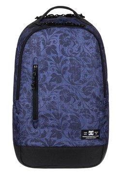 DC Trekker Blue Printed Polyester Laptop Backpack