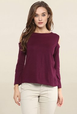 Miss Chase Wine Solid Top