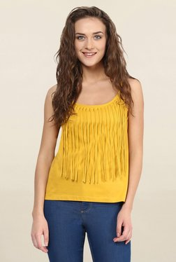 Miss Chase Yellow Solid Top