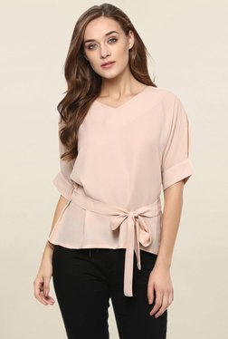 Miss Chase Peach Solid Top