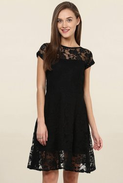 Miss Chase Black Lace Dress