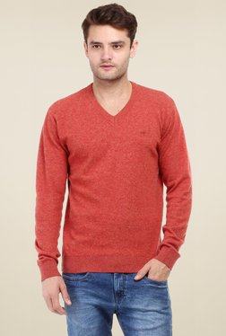 Red Tape Red Full Sleeves Sweater