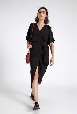 TheLabelLife Black Midi Dress