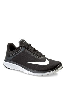 cf9bec6eba4 Nike Fs Lite Run 3 Black Running Shoes for women - Get stylish shoes ...